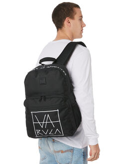 BLACK MENS ACCESSORIES RVCA BAGS + BACKPACKS - R193451ABLK