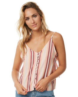 SUNDOWN STRIPE OUTLET WOMENS THE HIDDEN WAY FASHION TOPS - H8171175SDOWN
