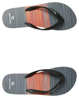BLACK RED MENS FOOTWEAR RIP CURL THONGS - TCTA130092