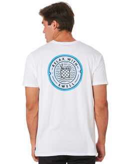 WHITE MENS CLOTHING SWELL TEES - S5194002WHITE