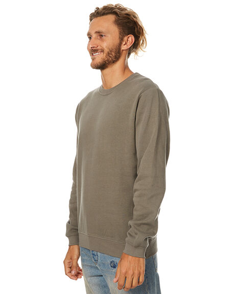 OLIVE OUTLET MENS SWELL JUMPERS - S5173451OLV