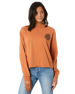 RUST WOMENS CLOTHING RIP CURL JUMPERS - GFEIL10530