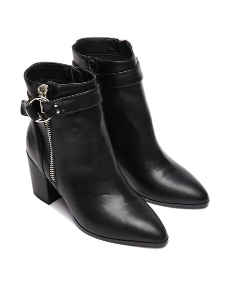 BLACK WOMENS FOOTWEAR THERAPY BOOTS - 9669BLK