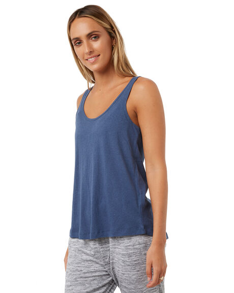 BLUE STEEL WOMENS CLOTHING RUSTY SINGLETS - TSL0517BST