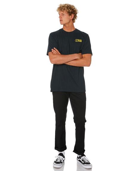 BLACK MENS CLOTHING VOLCOM TEES - A5001961BLK