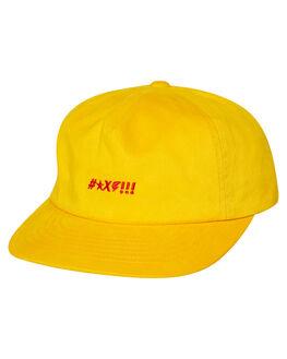 YELLOW MENS ACCESSORIES BRIXTON HEADWEAR - 10302YELLW