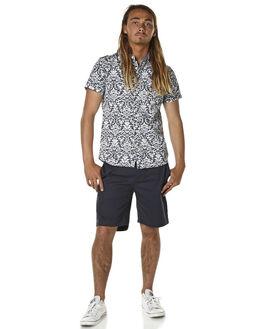 NAVY MENS CLOTHING DEUS EX MACHINA SHORTS - DMP53381NVY