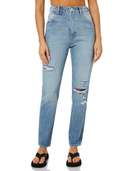 GARAGE WORN WOMENS CLOTHING ROLLAS JEANS - 13950B-6042