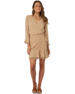 SAND WOMENS CLOTHING RHYTHM DRESSES - OCT18W-DR08SAN