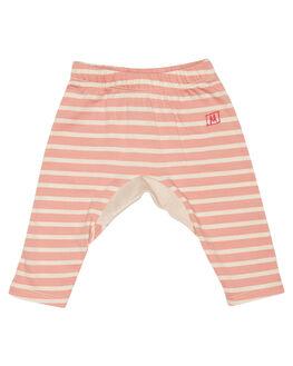 DESERT ROSE STRIPE KIDS BABY MUNSTER KIDS CLOTHING - LM172PA01DSRT