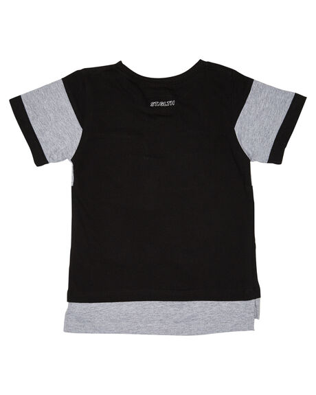 BLACK KIDS BOYS ST GOLIATH TOPS - 2820008BLK