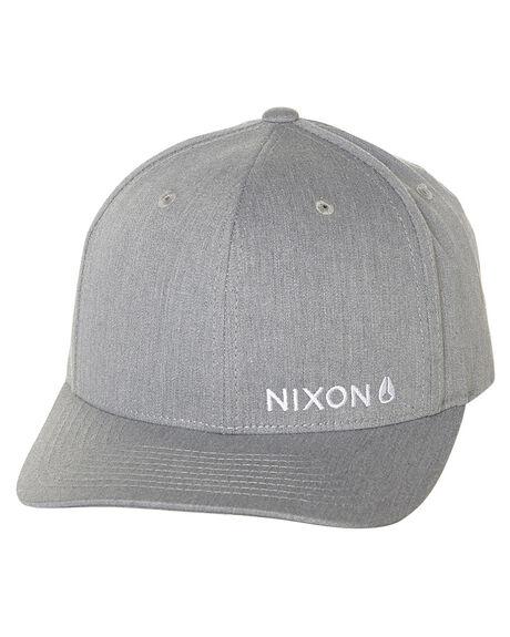 GREY MENS ACCESSORIES NIXON HEADWEAR - C2060070