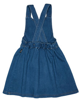 DENIM KIDS GIRLS ROCK YOUR KID DRESSES + PLAYSUITS - TGD19190-MMDNM