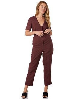 SANGIOVESE OUTLET WOMENS STEVIE MAY PLAYSUITS + OVERALLS - SL190534JSSANG