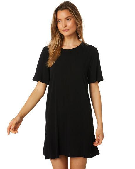 6581a69299b3 Swell Ebony Short Sleeve Swing Dress - Black | SurfStitch