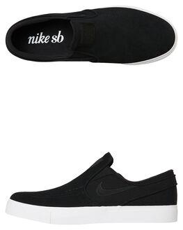 BLACK MENS FOOTWEAR NIKE SLIP ONS - 833564-009