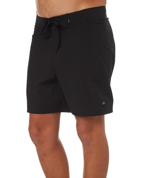 BLACK MENS CLOTHING SWELL BOARDSHORTS - S5171231BLK