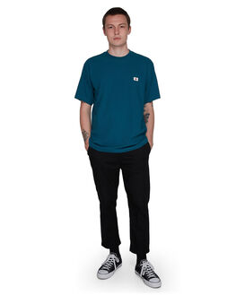 LEGION BLUE MENS CLOTHING ELEMENT TEES - EL-107015-LEG