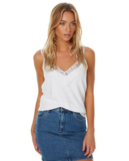 WHITE WOMENS CLOTHING THE FIFTH LABEL SINGLETS - TJ170310TWHT