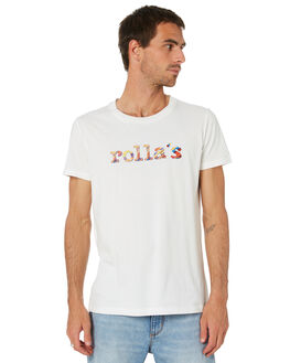 WHITE MENS CLOTHING ROLLAS TEES - 15909001