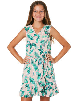 PRINT KIDS GIRLS EVES SISTER DRESSES + PLAYSUITS - 9520038PRNT