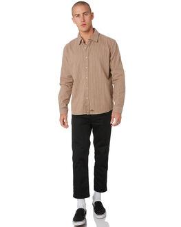 TAN MENS CLOTHING MISFIT SHIRTS - MT096402TAN