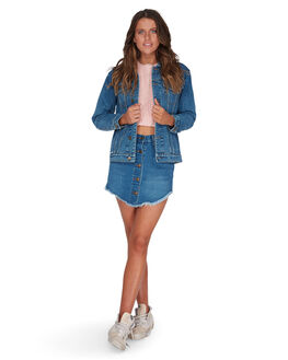 BLUE TIDE WOMENS CLOTHING BILLABONG JACKETS - BB-6595897-BTI