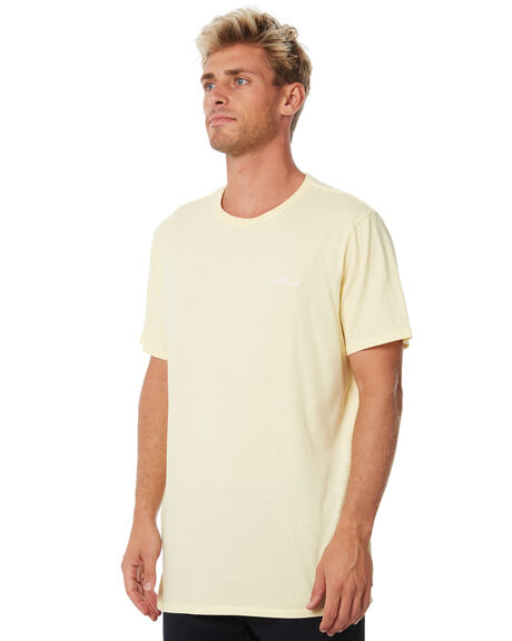 WASHED YELLOW MENS CLOTHING SWELL TEES - S5183006WSHYE