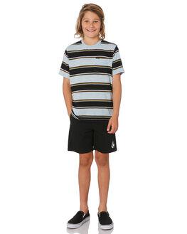 BLACK KIDS BOYS VOLCOM SHORTS - C1031802BLK