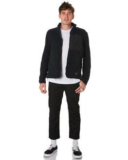 BLACK MENS CLOTHING HERSCHEL SUPPLY CO JUMPERS - 50044-00333BLACK