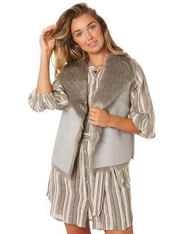 GREY WOMENS CLOTHING LILYA JACKETS - SHV02-LAW19GRY