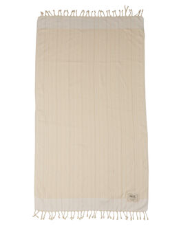 WHITE WOMENS ACCESSORIES MAYDE TOWELS - 17TREAWHTWHT