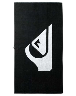 BLACK MENS ACCESSORIES QUIKSILVER TOWELS - EQYAA03108KVJ0