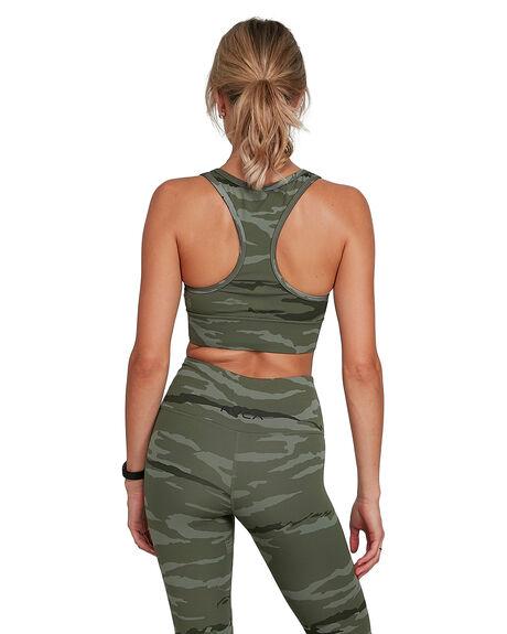 CAMOUFLAGE WOMENS CLOTHING RVCA ACTIVEWEAR - RV-R405712-CMU