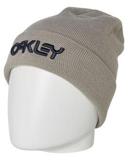 STONE GRAY MENS ACCESSORIES OAKLEY HEADWEAR - 91201322Y