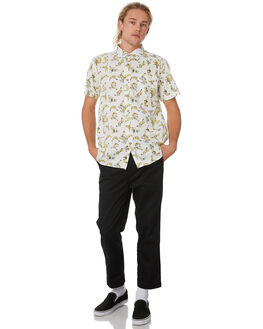 BLANC MENS CLOTHING THE CRITICAL SLIDE SOCIETY SHIRTS - SS1840BLANC