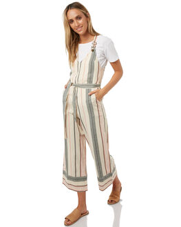 IVORY WOMENS CLOTHING BILLABONG PLAYSUITS + OVERALLS - 6585503IVORY