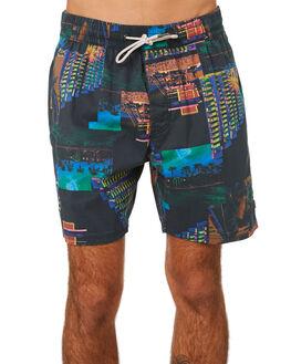 MIAMI NIGHT MENS CLOTHING BARNEY COOLS BOARDSHORTS - 805-PEC1MNIGH