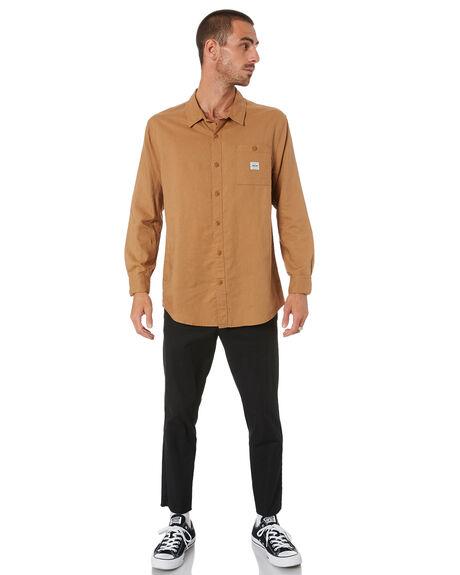 HEMP TAN MENS CLOTHING DEPACTUS SHIRTS - D5211170HMPTN
