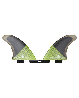 ACID BLACK BOARDSPORTS SURF FCS FINS - FCAR-PC04-RS-RACBLK