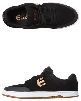 BLACK TAN RED MENS FOOTWEAR ETNIES SKATE SHOES - 4101000403-975