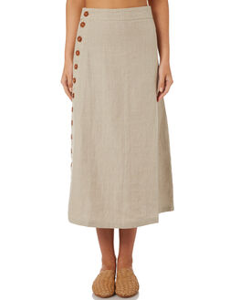 STONE WOMENS CLOTHING SAINT HELENA SKIRTS - SHS18871STN