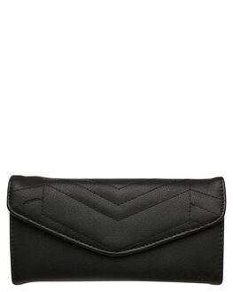 BLACK WOMENS ACCESSORIES RUSTY PURSES + WALLETS - WAL0777BLK
