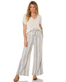 LIGHT BLUE WOMENS CLOTHING RIP CURL PANTS - GPAEI11080