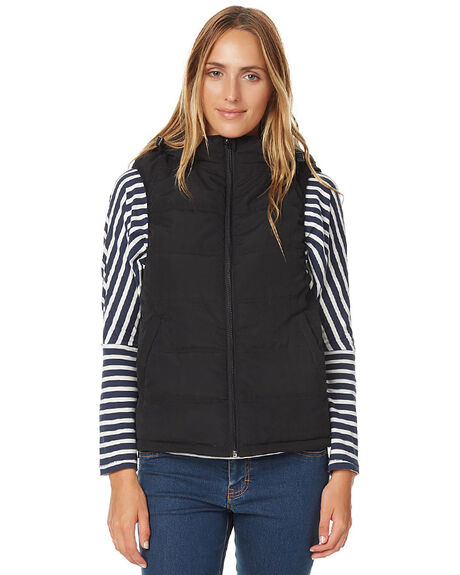 BLACK OUT WOMENS CLOTHING O'NEILL JACKETS - 3722903BLK