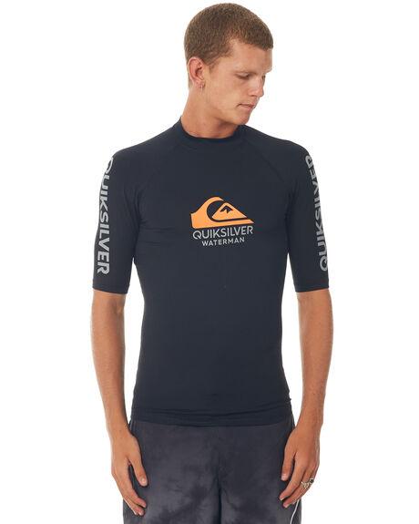 BLACK SURF RASHVESTS QUIKSILVER MENS - EQMWR03024KVJ0