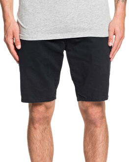 BLACK MENS CLOTHING QUIKSILVER SHORTS - EQYWS03468-KVJ0
