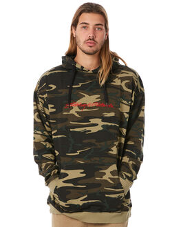 CAMO MENS CLOTHING STUSSY JUMPERS - ST082108CAMO
