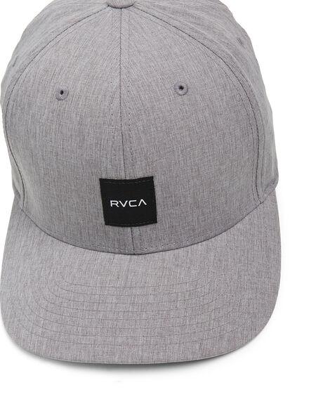 GREY MENS ACCESSORIES RVCA HEADWEAR - RV-R308561-GRY