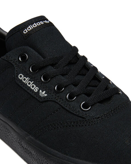 BLACK GREY MENS FOOTWEAR ADIDAS SKATE SHOES - SSB22713BLKGM